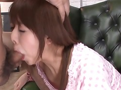 Favourable stud acquires rapturous blow job from sexy Asian playgirl